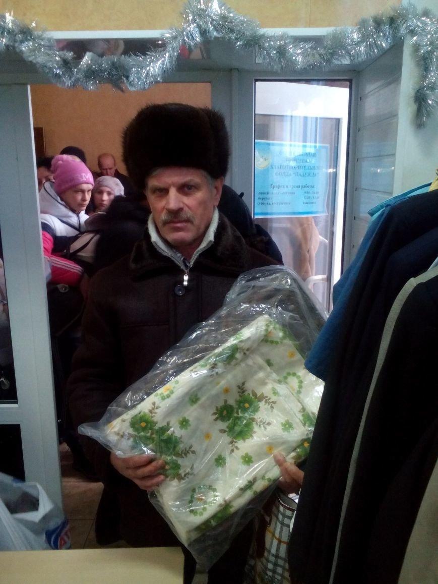 Сегодня переселенцы, живущие в Красноармейске, получили гуманитарную помощь, фото-2