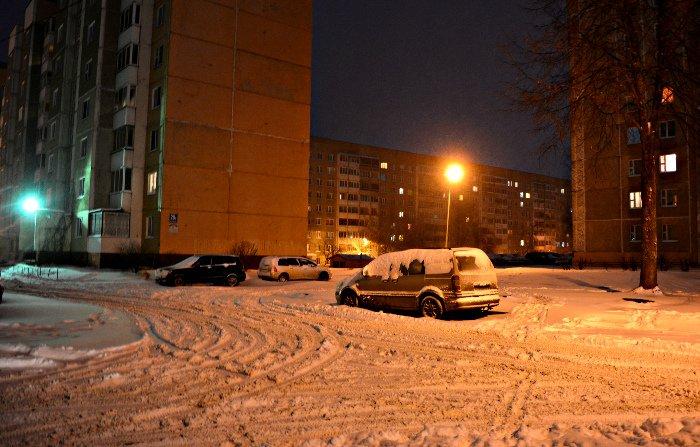 В Полоцк и Новополоцк пришел циклон Daniella с обильным снегопадом и метелями (фото) - фото 4