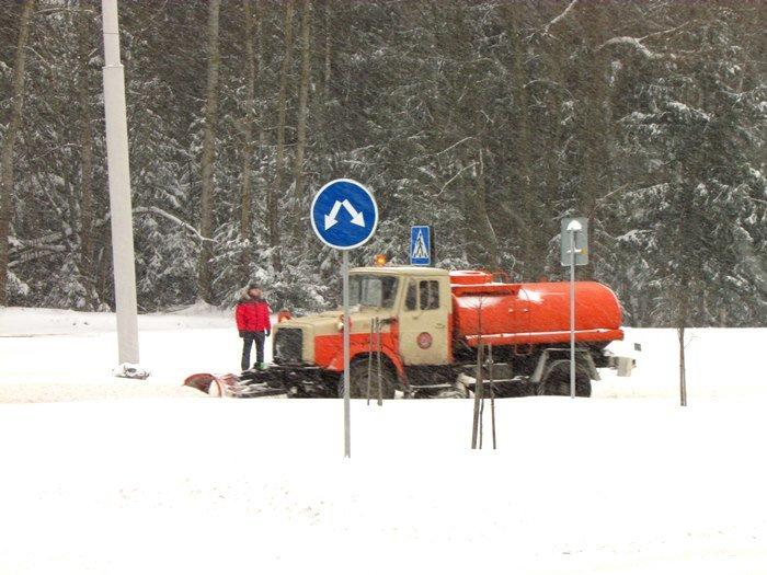 В Полоцк и Новополоцк пришел циклон Daniella: снег будет усиливаться в течение дня (фото) - фото 4