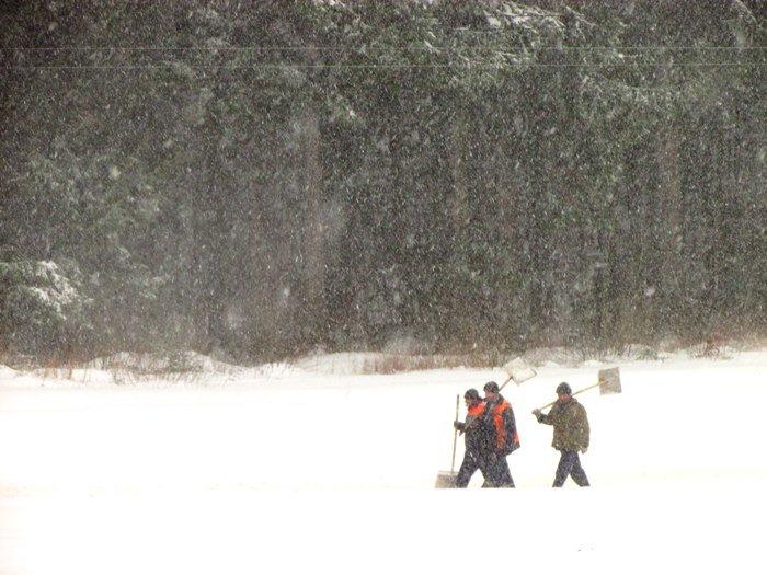 В Полоцк и Новополоцк пришел циклон Daniella: снег будет усиливаться в течение дня (фото) - фото 2