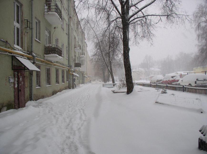 Циклон в Витебске: фоторепортаж с городских улиц (фото) - фото 5