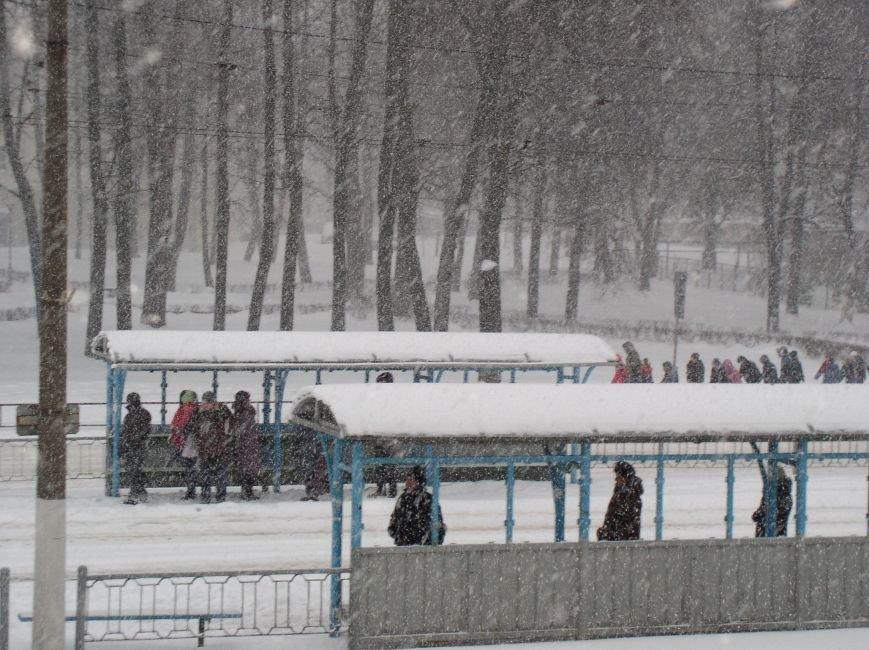 Циклон в Витебске: фоторепортаж с городских улиц (фото) - фото 3