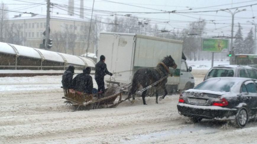 Циклон в Витебске: фоторепортаж с городских улиц (фото) - фото 7