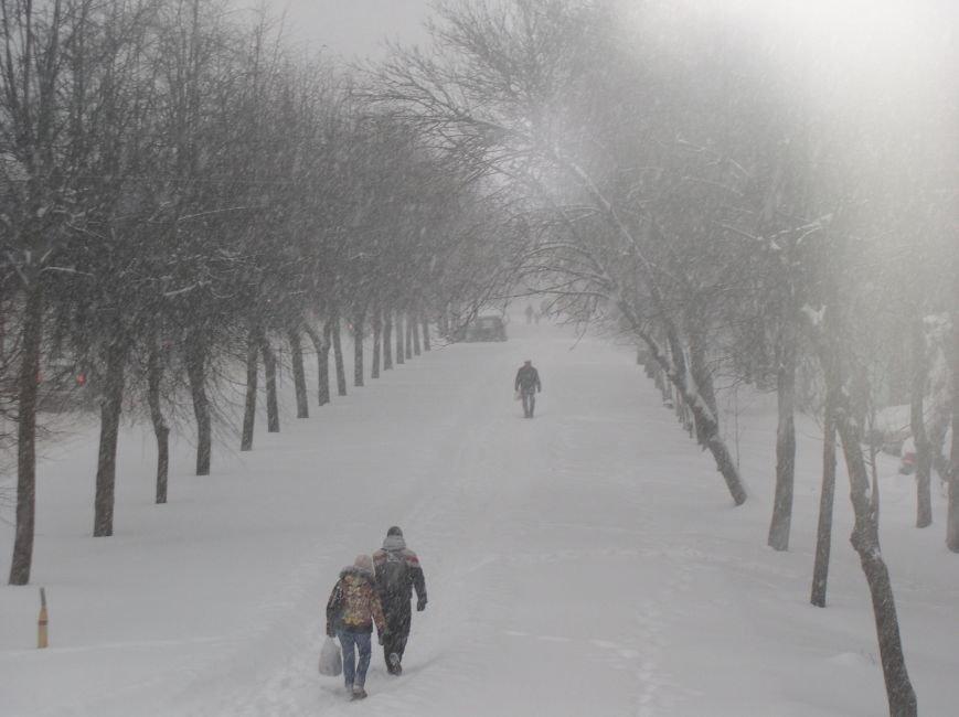 Циклон в Витебске: фоторепортаж с городских улиц (фото) - фото 1