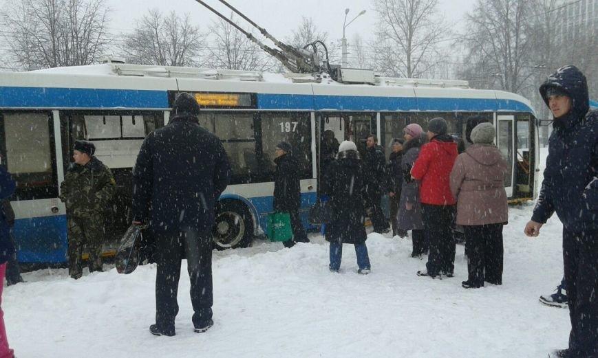 Циклон в Витебске: фоторепортаж с городских улиц (фото) - фото 6