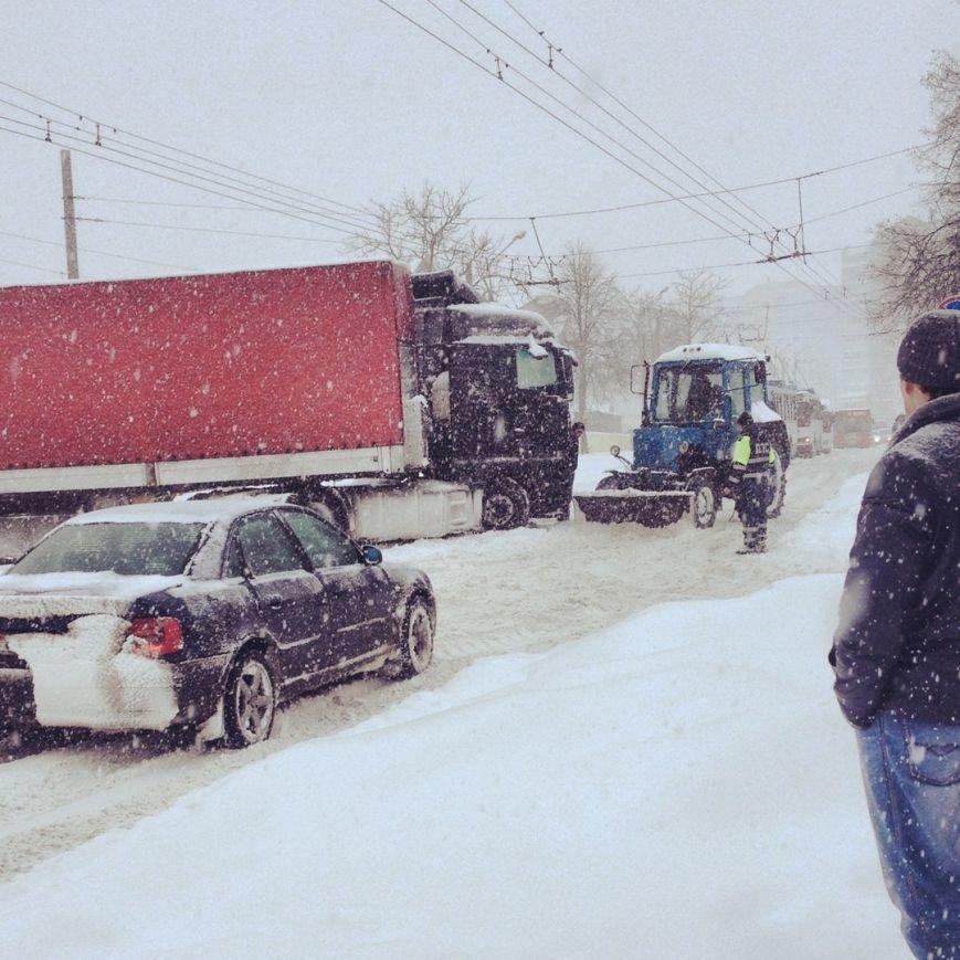 Циклон в Витебске: фоторепортаж с городских улиц (фото) - фото 8