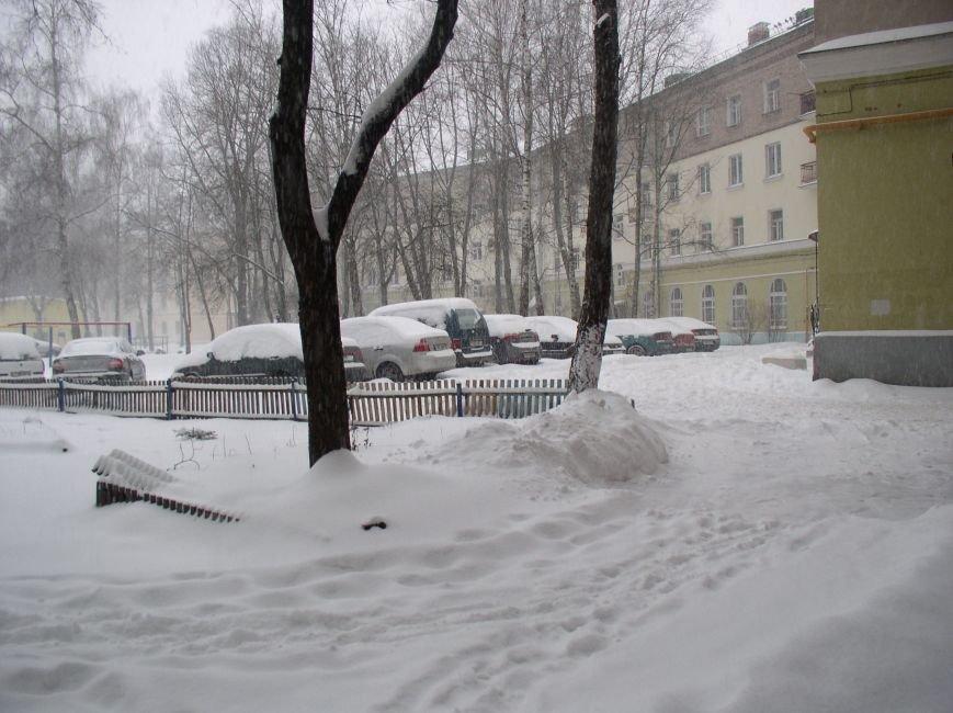 Циклон в Витебске: фоторепортаж с городских улиц (фото) - фото 4