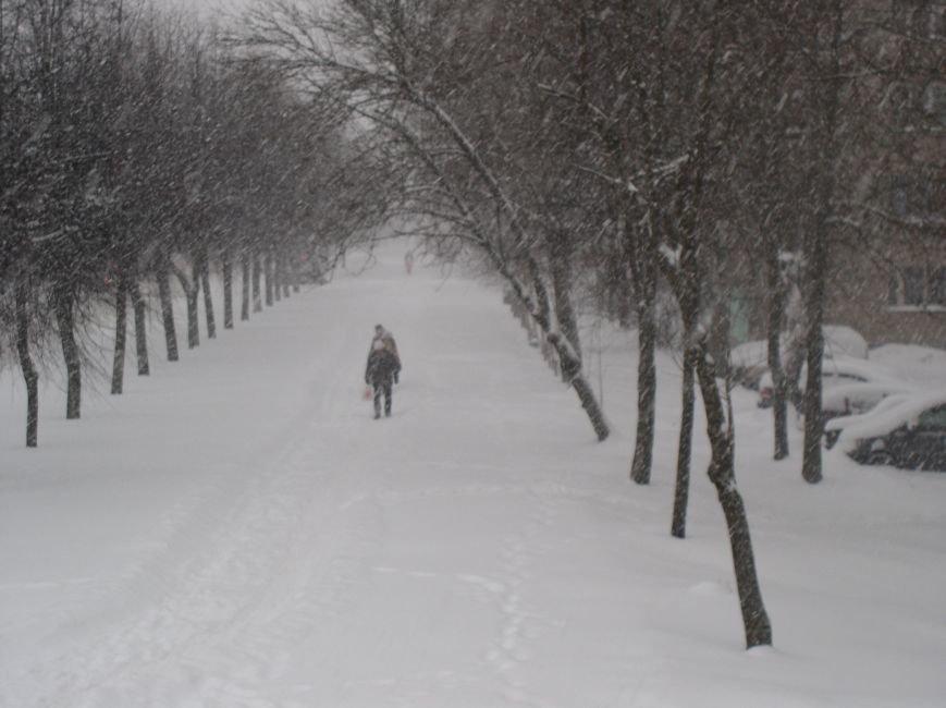 Циклон в Витебске: фоторепортаж с городских улиц (фото) - фото 2