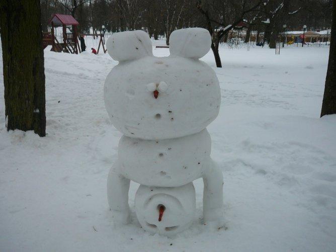 снеговик индусы