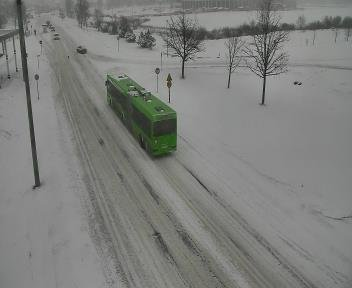 Фотофакт: циклон «Даниелла» замел белорусские трассы (фото) - фото 2
