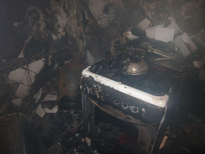 На левобережье Днепродзержинска произошел пожар в кухне квартиры (фото) - фото 4