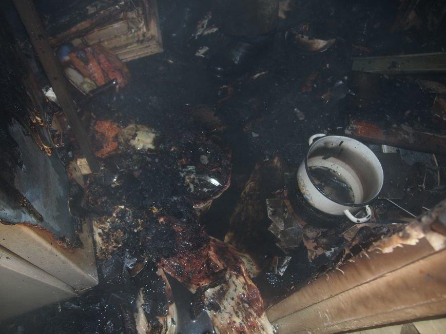 На левобережье Днепродзержинска произошел пожар в кухне квартиры (фото) - фото 3