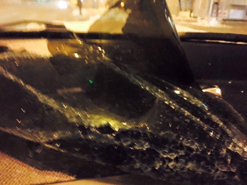 В Киеве неизвестные разбили автомобиль журналистки (ФОТО), фото-3