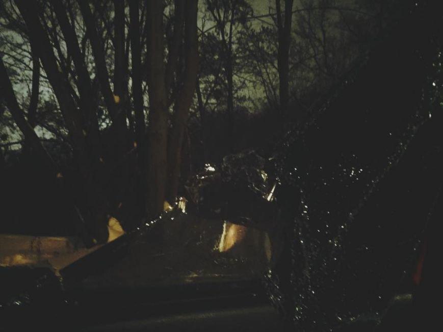 В Киеве неизвестные разбили автомобиль журналистки (ФОТО), фото-1