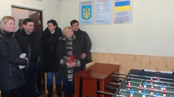 Ирина Геращенко проверяла как соблюдаются права человека в Мариупольском СИЗО (фото) - фото 1