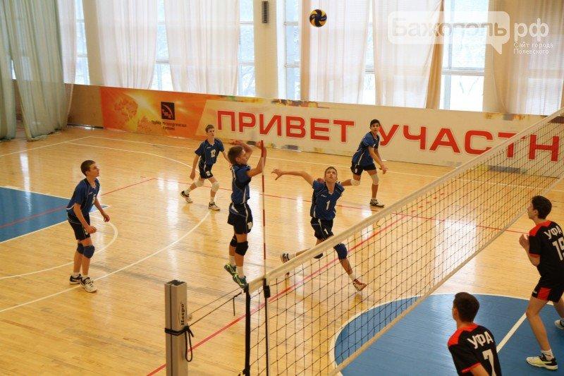 В Полевском определили победителя второго этапа первенства России по волейболу (фото) (фото) - фото 1
