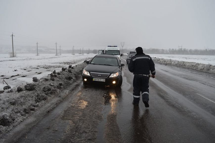 Погодные условия не радуют - в Красноармейском районе 2 ДТП за с (фото) - фото 1