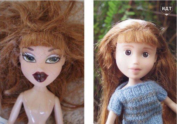 Австралийская художница умыла кукол (фото) - фото 2