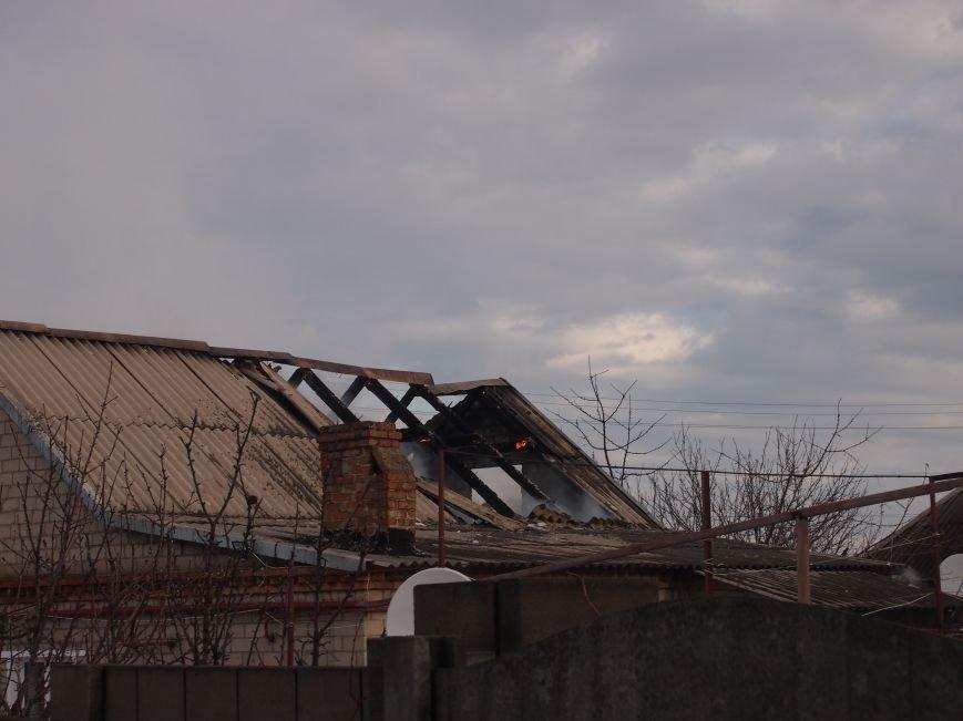 Днепродзержинские спасатели ликвидировали пожар в частном доме по улице Путевой (фото) - фото 3