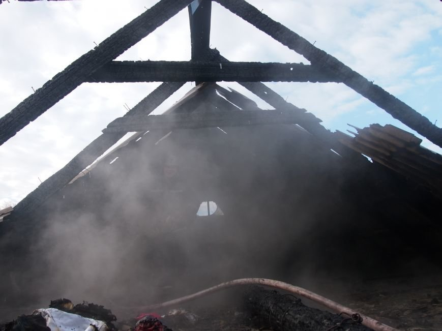 Днепродзержинские спасатели ликвидировали пожар в частном доме по улице Путевой (фото) - фото 4
