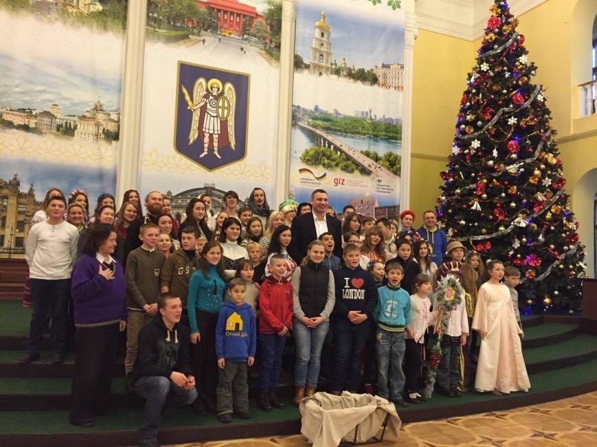 В мэрии прошел Рождественский вертеп (ФОТО), фото-1