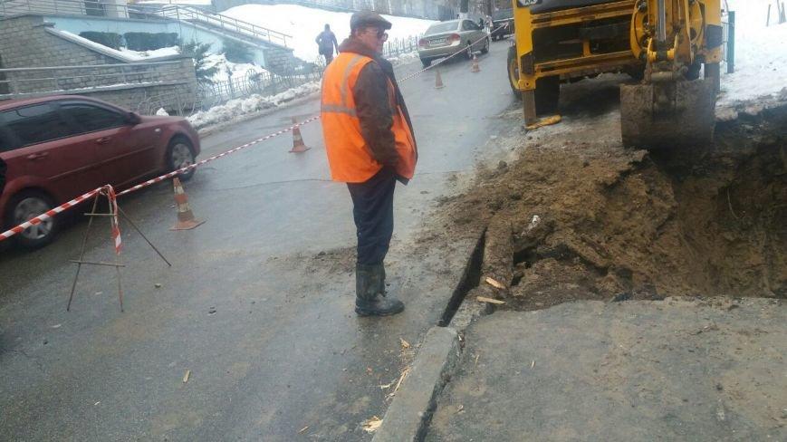 В Соломенском районе на дороге провалился асфальт (ФОТО), фото-4