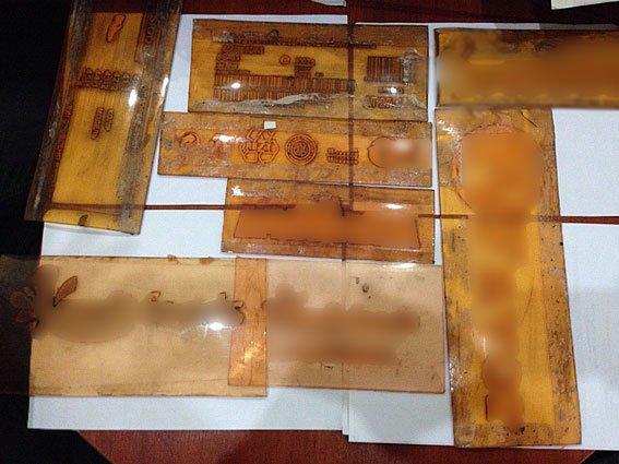 Поліція затримала львів'янина, який підробляв паперові ящики відомих виробників (ФОТО) (фото) - фото 1