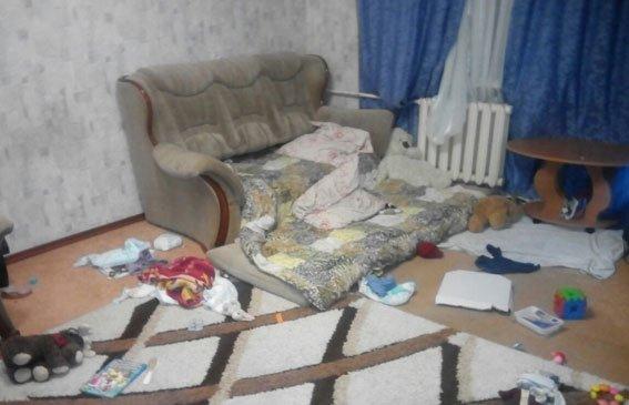 """""""Один дома-6"""". В Кременчуге горе-мать оставила грудного ребёнка одного на всю ночь (ФОТО), фото-1"""