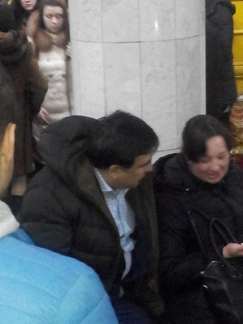 Михеил Саакашвили спустился в харьковское метро (фото) - фото 1