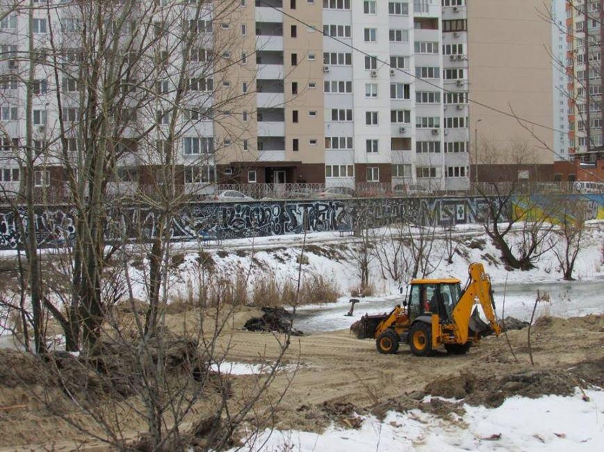В Киеве возобновилось строительство моста через озеро Жандарка (ФОТО), фото-4