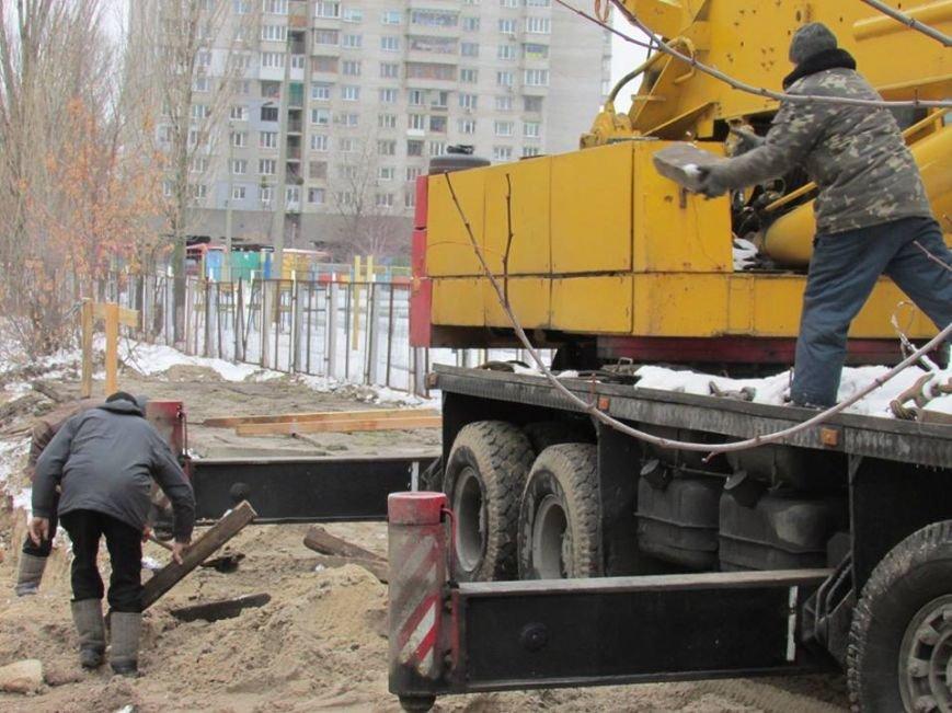 В Киеве возобновилось строительство моста через озеро Жандарка (ФОТО), фото-5