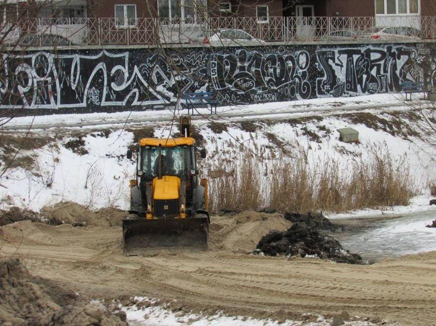В Киеве возобновилось строительство моста через озеро Жандарка (ФОТО), фото-2