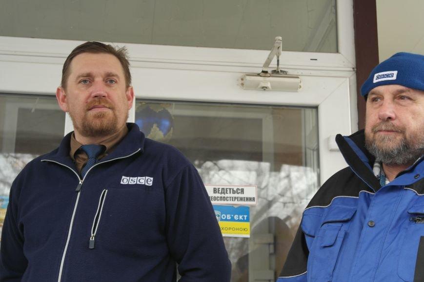 В Красноармейске открыта база СММ ОБСЕ первым заместителем руководителя миссии, фото-2