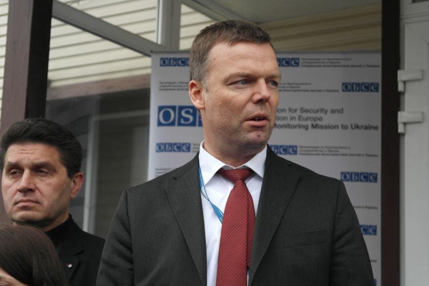 В Красноармейске открыта база СММ ОБСЕ первым заместителем руководителя миссии, фото-3