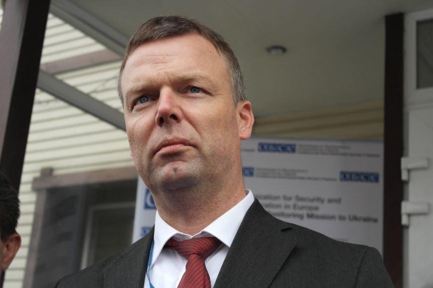 В Красноармейске открыта база СММ ОБСЕ первым заместителем руководителя миссии, фото-4