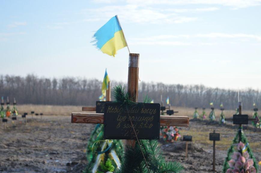 На запорожском кладбище похоронили последнего солдата, погибшего под Иловайском, - ФОТО, ВИДЕО, фото-1