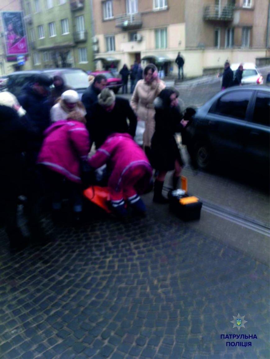 У Львові збили дівчину на пішохідному переході (ФОТО) (фото) - фото 1
