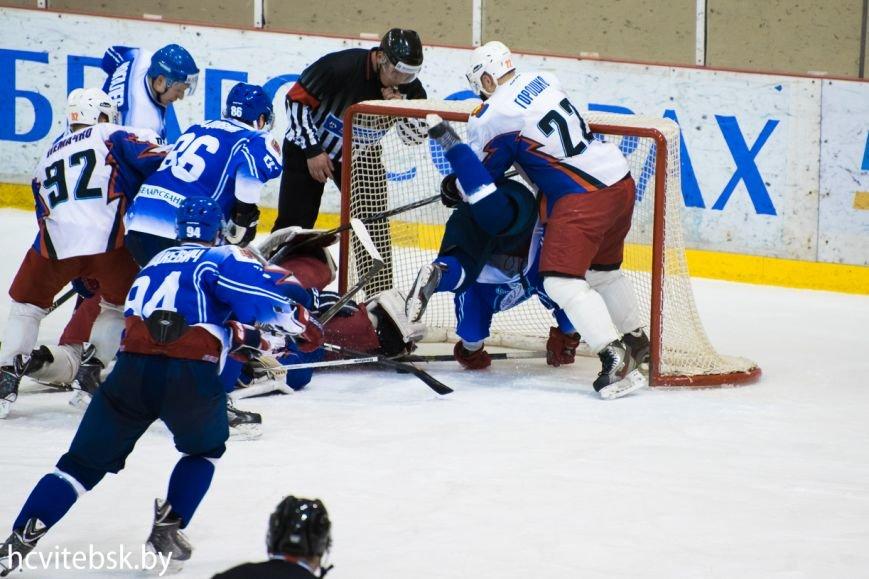 Хоккей: «Витебск», проигрывая по ходу матча, в серии буллитов дожал «Брест» (фото) - фото 2