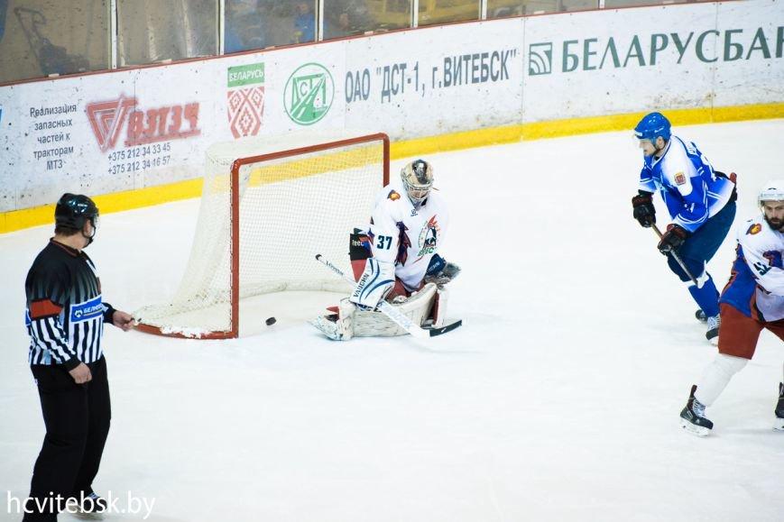 Хоккей: «Витебск», проигрывая по ходу матча, в серии буллитов дожал «Брест» (фото) - фото 3