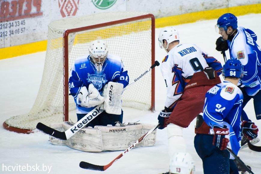 Хоккей: «Витебск», проигрывая по ходу матча, в серии буллитов дожал «Брест» (фото) - фото 1