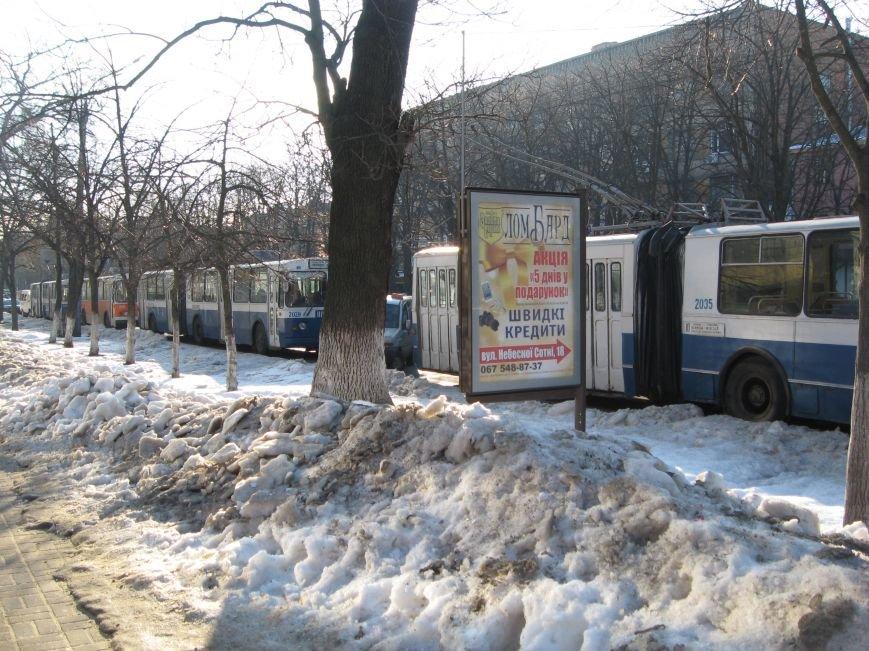 У центрі Черкас маршрутка врізалася у стовп (ФОТО), фото-3