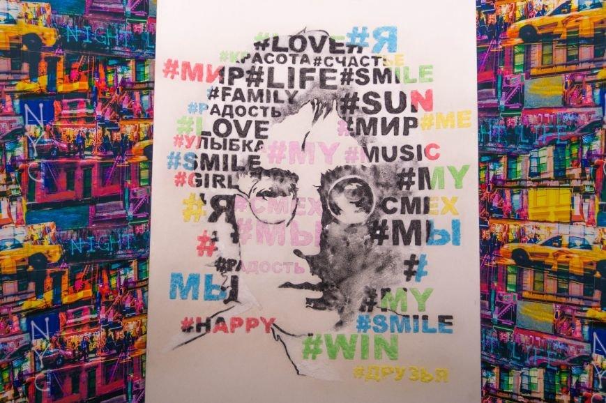 Гродненская художница нарисовала портрет лидера группы