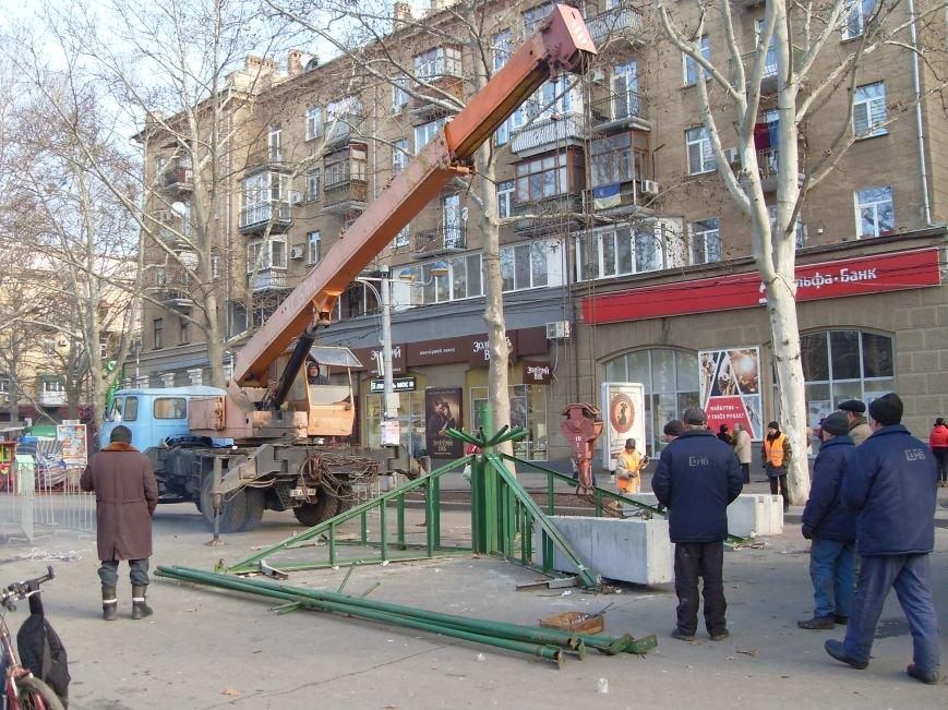 Праздники закончились: в Николаеве демонтировали главную елку города (ФОТОФАКТ) (фото) - фото 2