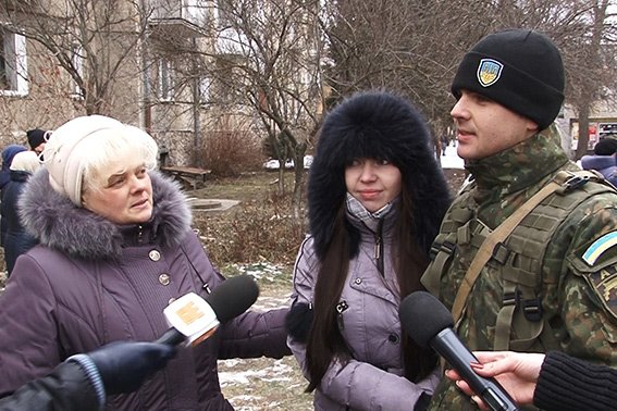На Схід України вирушив зведений загін прикарпатських поліцейських (ФОТО) (фото) - фото 1