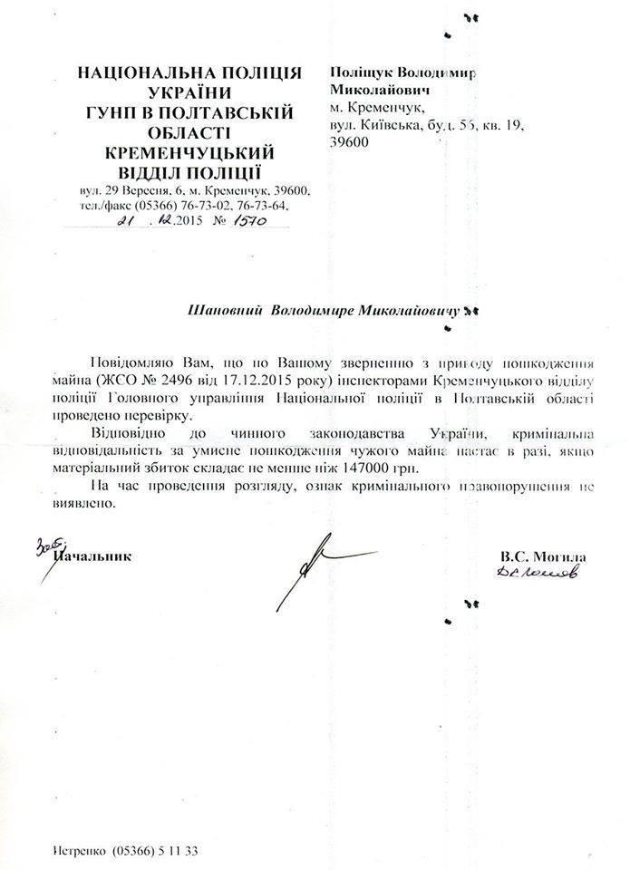 О том, как истории простых граждан демонстрируют работу Новой полиции Кременчуга (фото) - фото 3