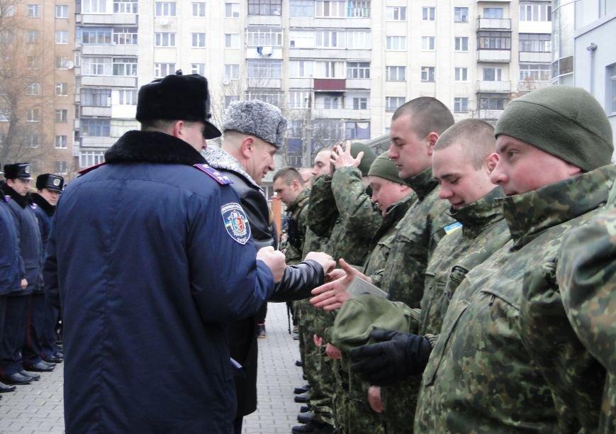 У Хмельницькому чергова ротація правоохоронців у зону АТО (Фото) (фото) - фото 5