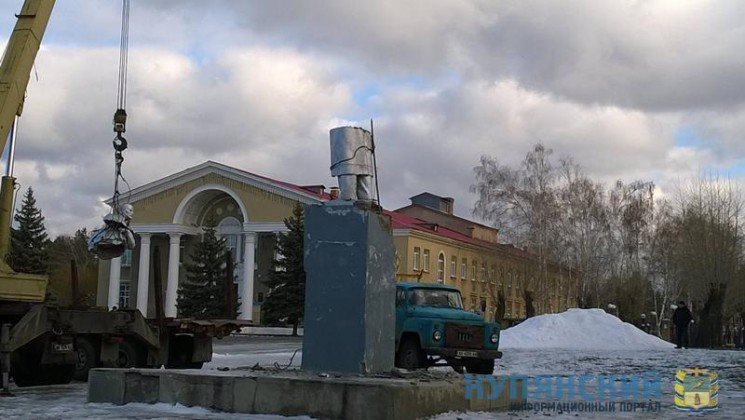 Под Харьковом демонтировали два памятника Ленину (ФОТО), фото-2