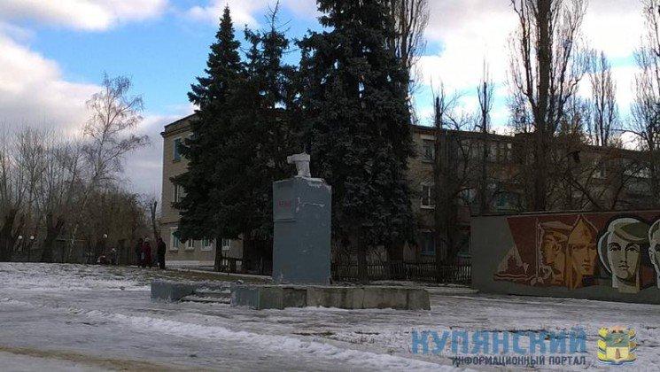 Под Харьковом демонтировали два памятника Ленину (ФОТО), фото-3