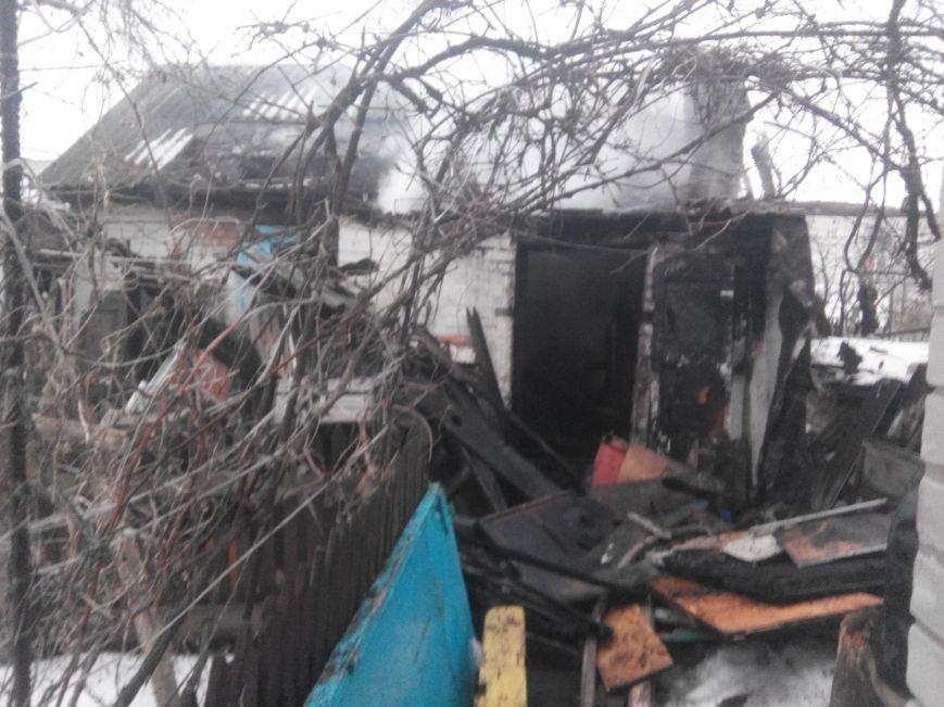 В Кременчуге горели два жилых дома (ФОТО), фото-1