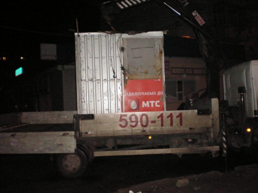 В Николаеве снесли незаконные МАФы в центре города (ФОТО) (фото) - фото 1